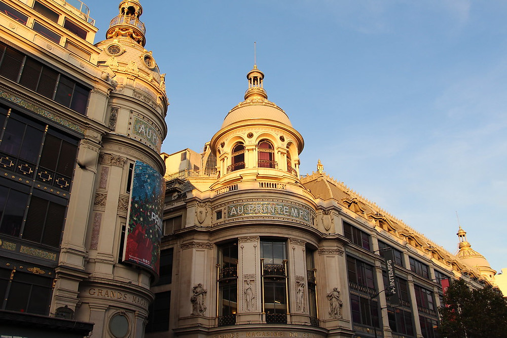 Paris' grand magasin Printemps