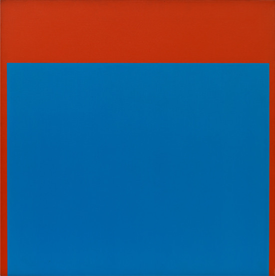 Ellsworth Kelly, Blue Red, 1964