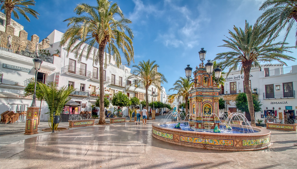 Plaza España in Vejer de la Frontera