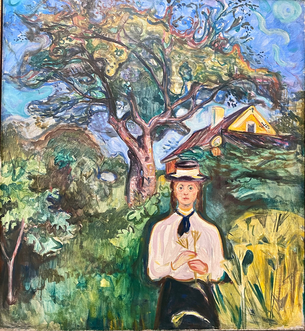 Edvard Munch, Girl Under Apple Tree, 1904
