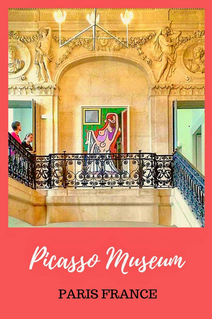 Picasso Museum in Paris France