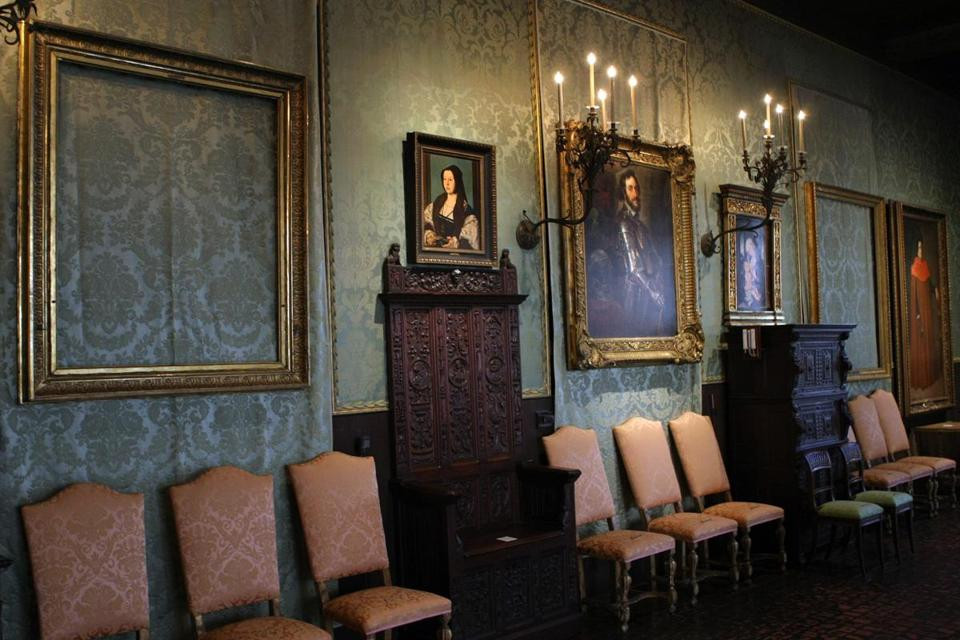 the Dutch Room at the Gardner Museum