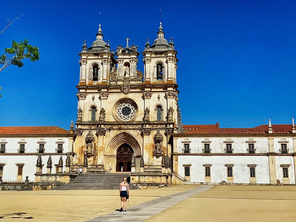Alcobaça Monastery in Portugal, outside Lisbon