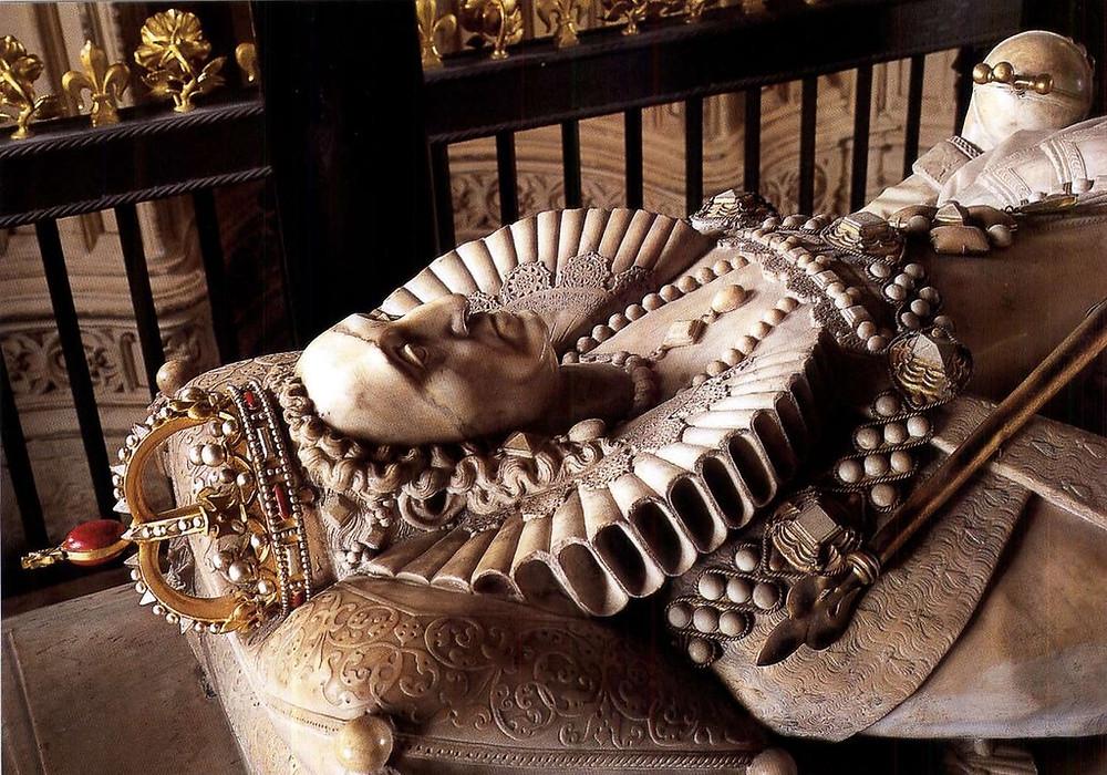 effigy of Elizabeth I