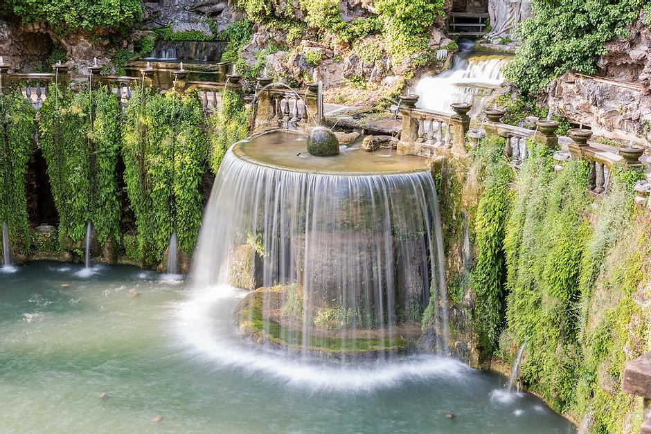 Fountain of the Ovato at Villa d'Este