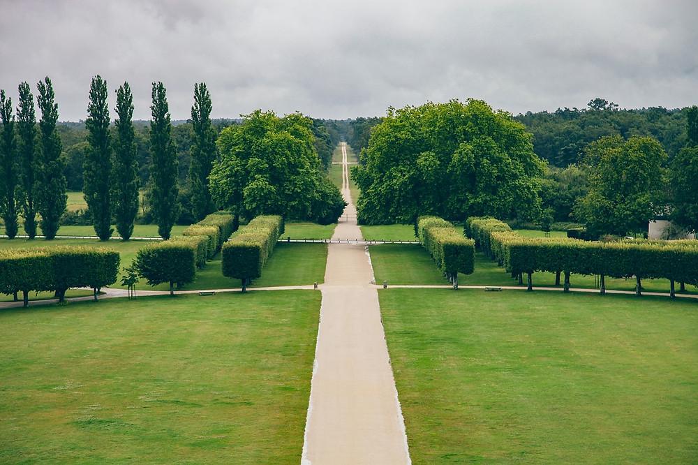 gardens and park at Chambord