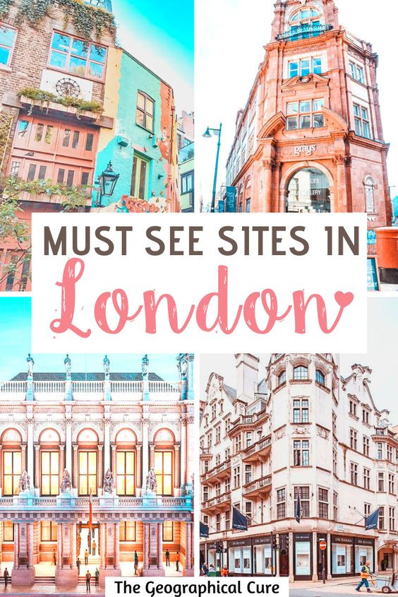 Must See Sites in London: 5 Day itinerary