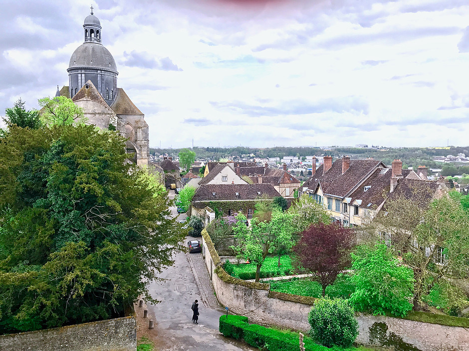 the medieval UNESCO-listed town of Provins
