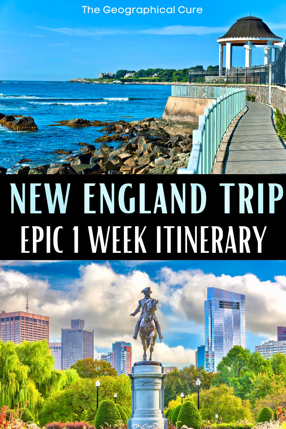 one week road trip itinerary for New England