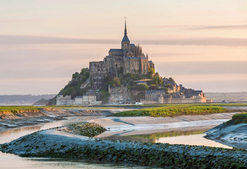 Mont Saint-Michel, one of France's most famous landmarks