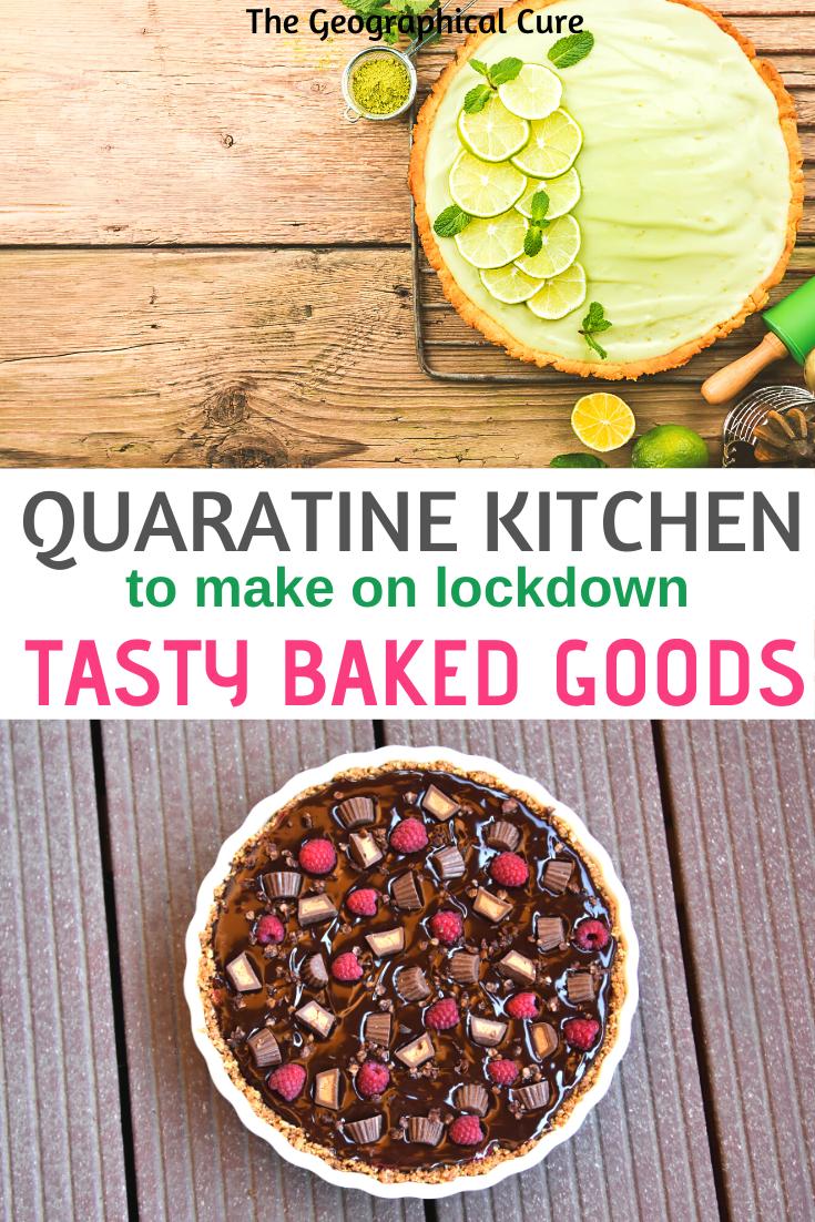 tasty baked goods to make during lockdown