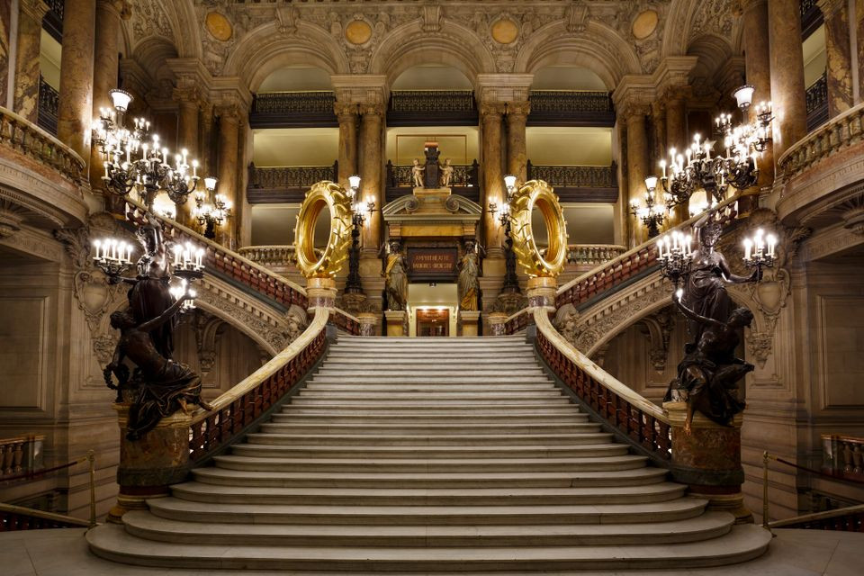 Claude Lévêque's installation Les Saturnales was unveiled on 30 December at the Palais Garnier, the opulent Paris opera house. © C. Pele