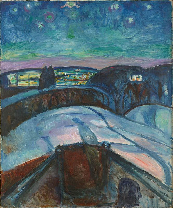 Edvard Munch, Starry Night, 1893