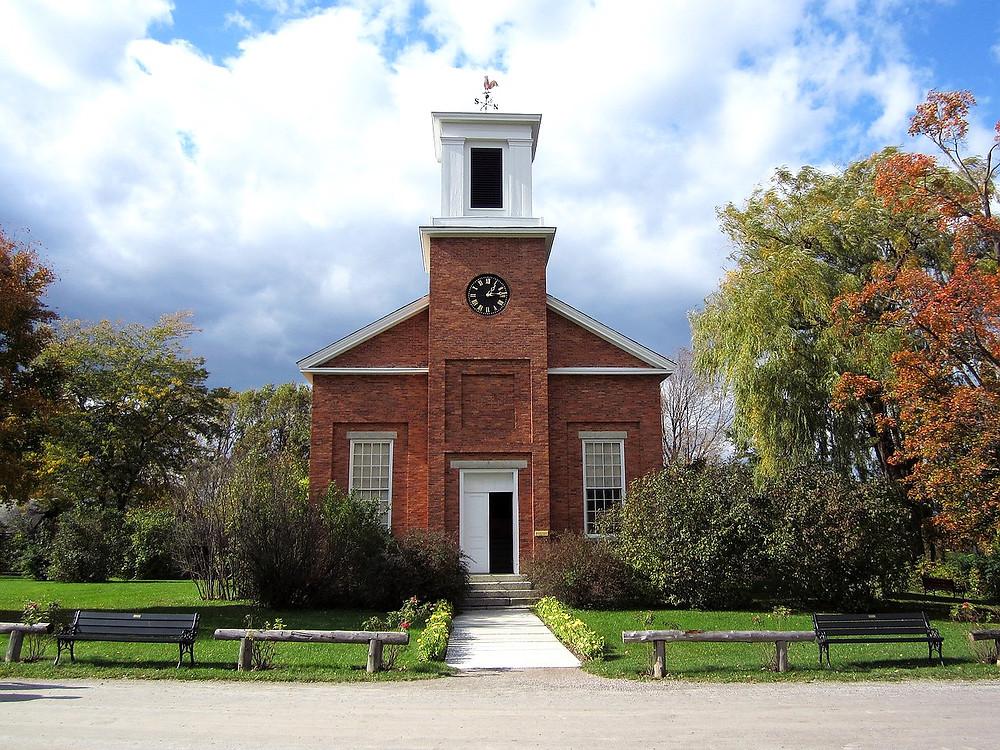 Charlotte Meeting House in Shelburne