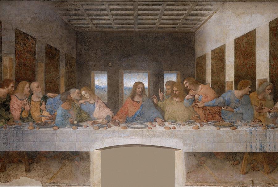 Leonardo, The Last Supper, 1498