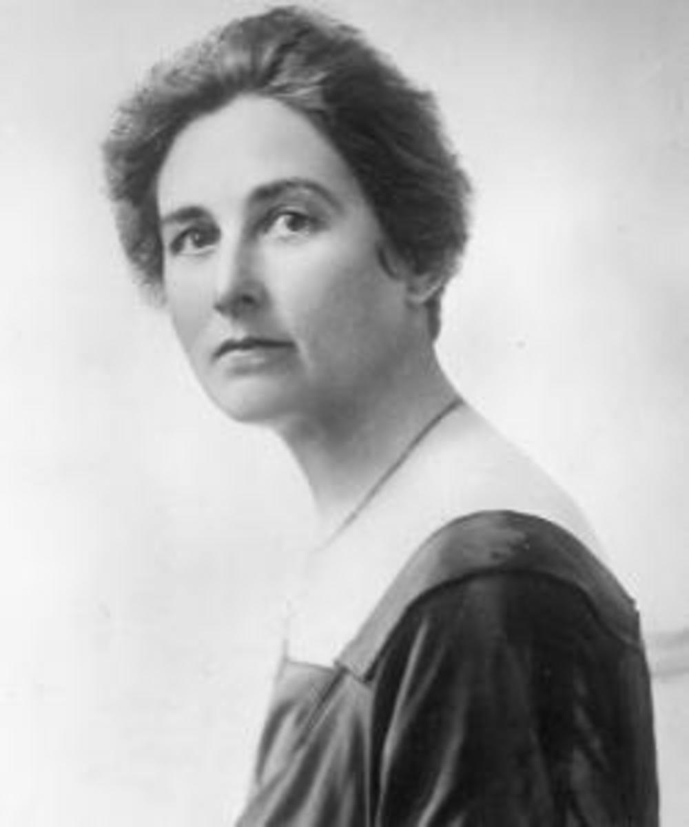 Wright's mistress, Mamah Borthwick.