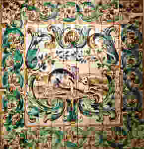 azulejo tiles at Lisbon's National Tile Museum