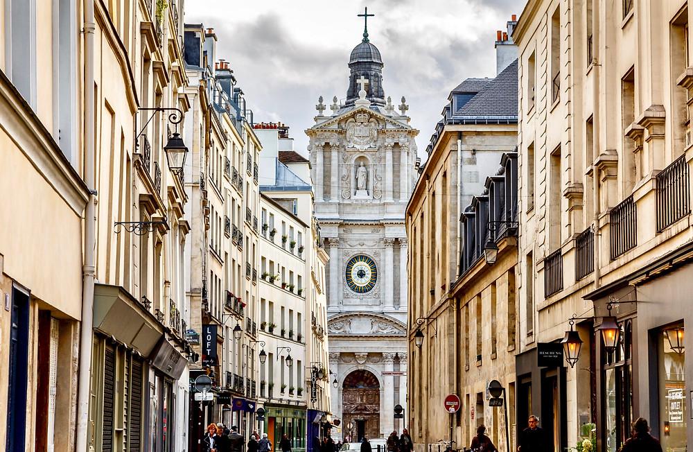 Rue de Sevigny in the Marais