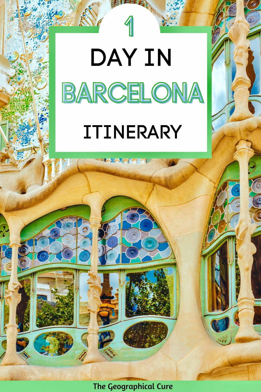 1 Day Itinerary for Barcelona