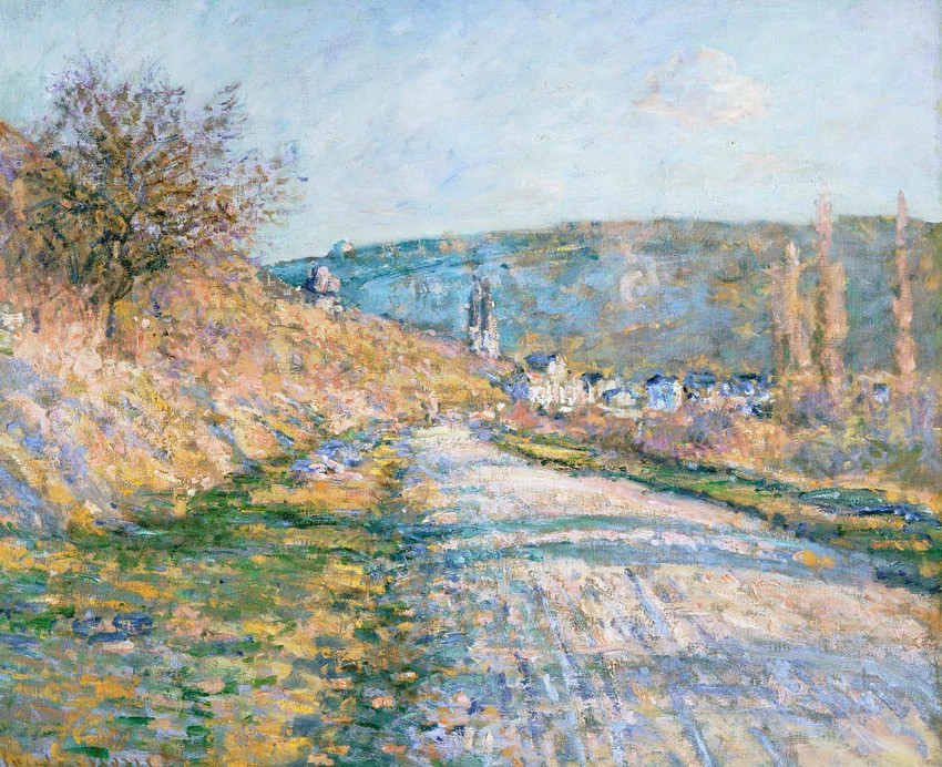 Monet, Road To Vetheuil, 1879