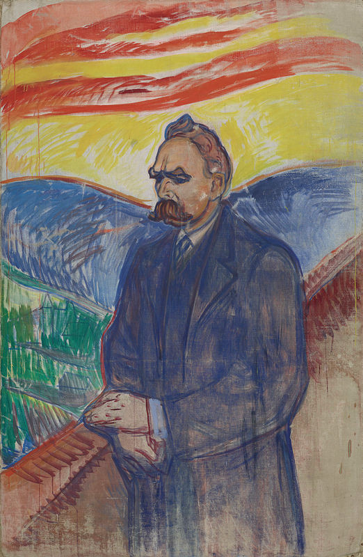 Edvard Munch, Nietzsche, 1906