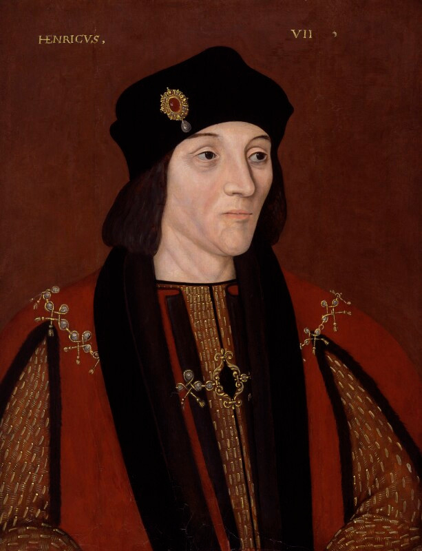 King Henry VII after Unknown artist oil on panel, 1597-1618