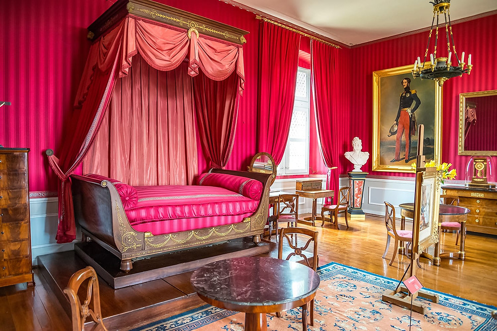 bedroom in Chateau d'Amboise