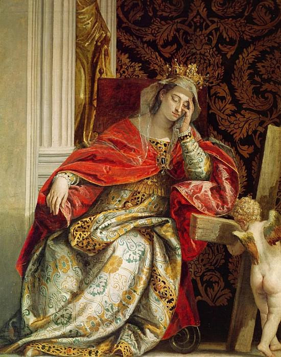 Paolo Veronese, The Vision of St. Helena, mid 16th century