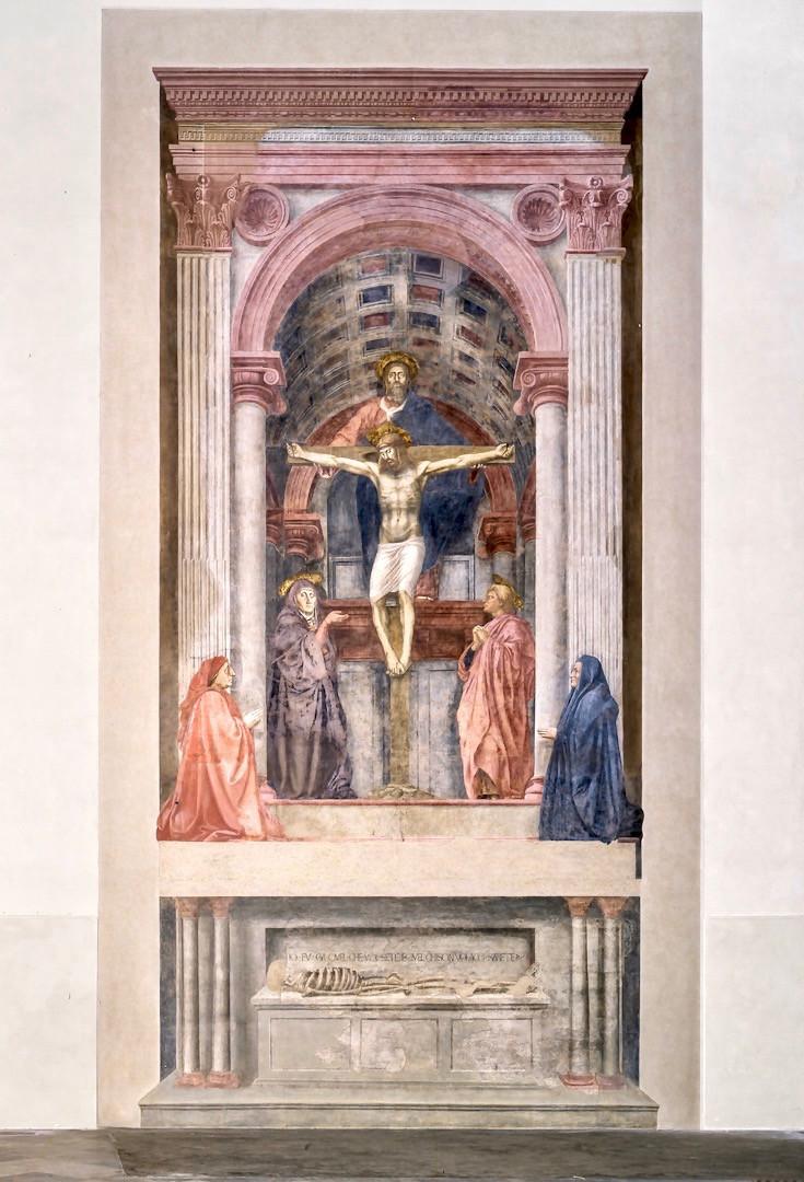 Masaccio, The Holy Trinity, 1424