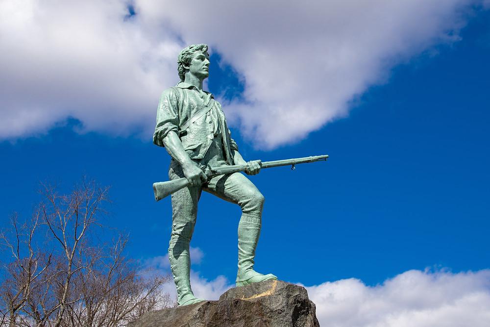 Kitson's Minuteman state in Lexington