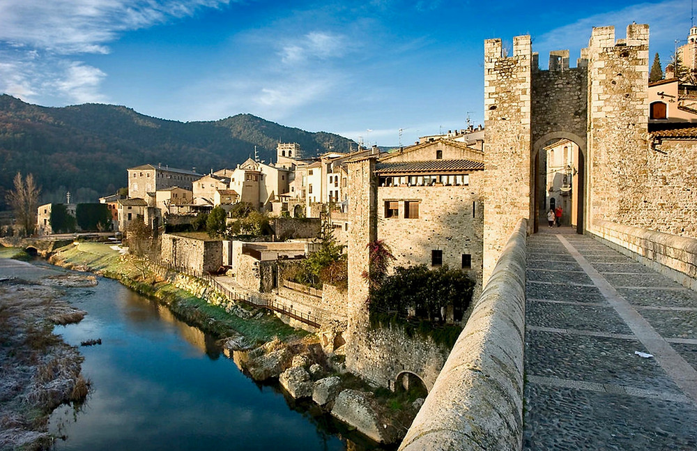 Besalu Spain