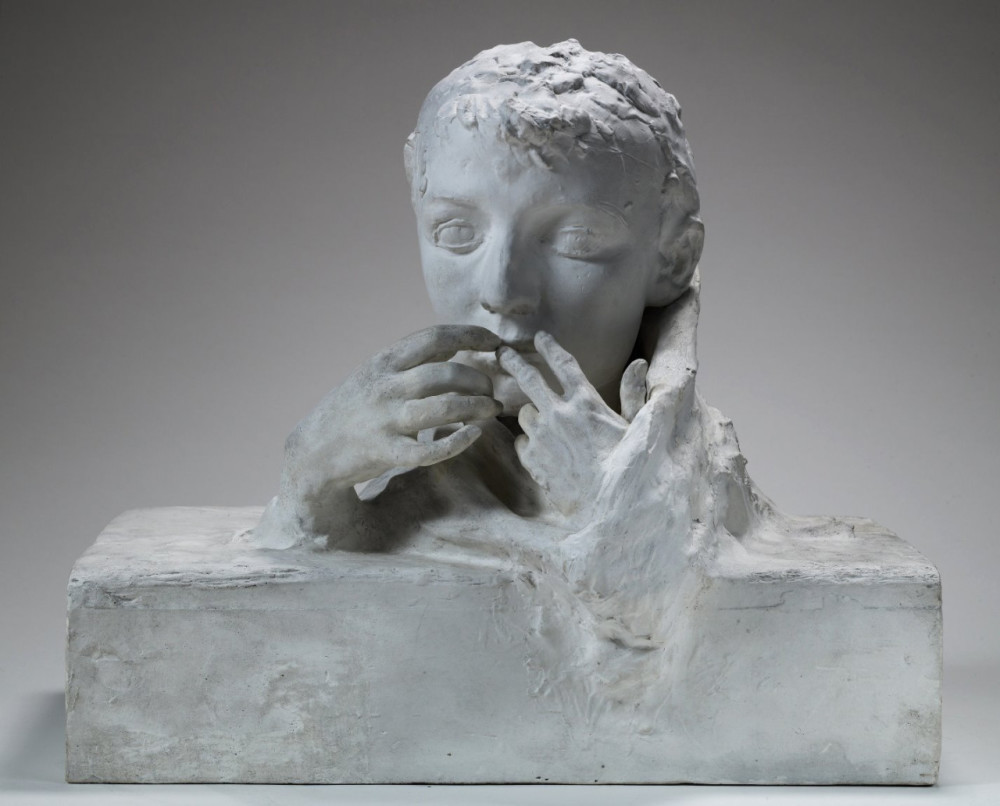 August Rodin, Farewell, 1898 -- created after Camille Claudel broke off their affair