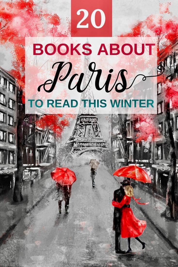 20 books about Paris France