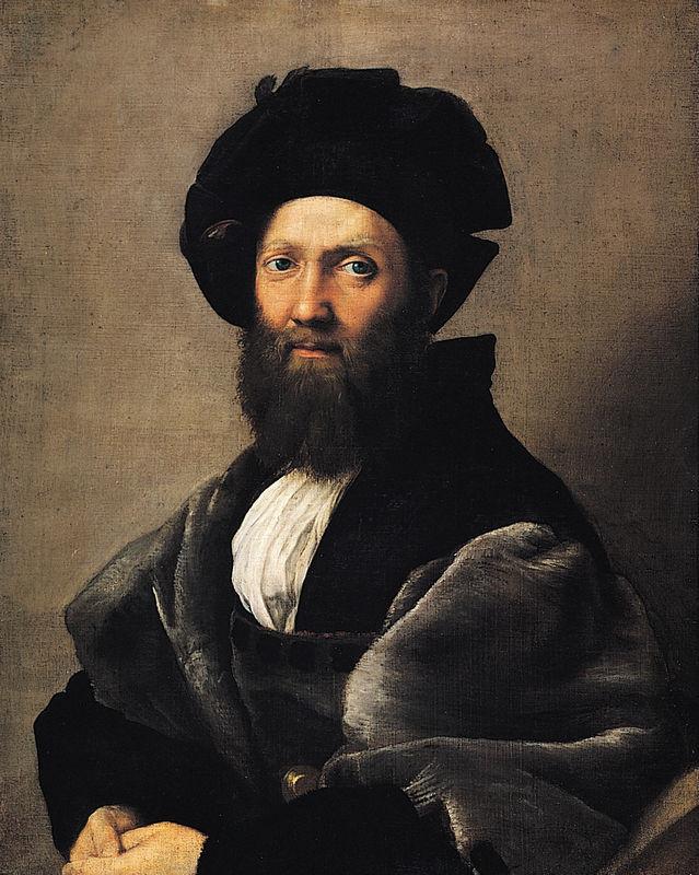 Raphael, Portrait of Baldasarre Castiglione, 1515