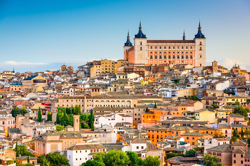 cityscape of Toledo Spain