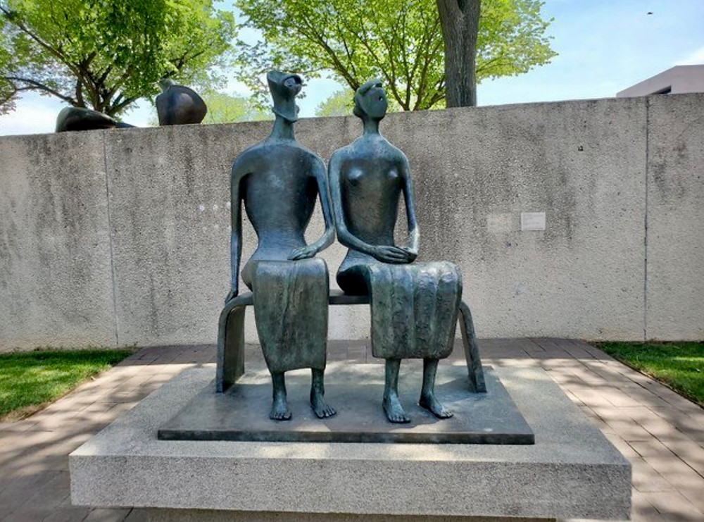 Henry Moore, King and Queen, 1953