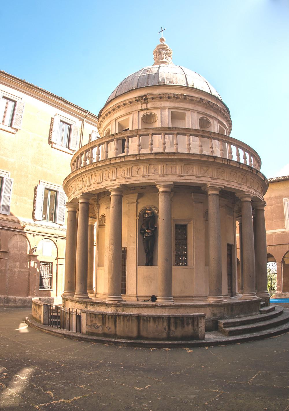 Bramante's Tiempetto in San Pietro di Montorio