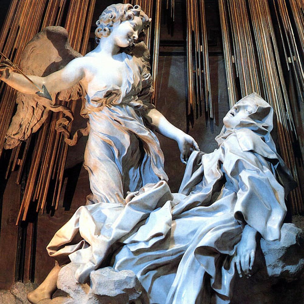 Bernini, The Ecstasy of Saint Teresa, 1645-52
