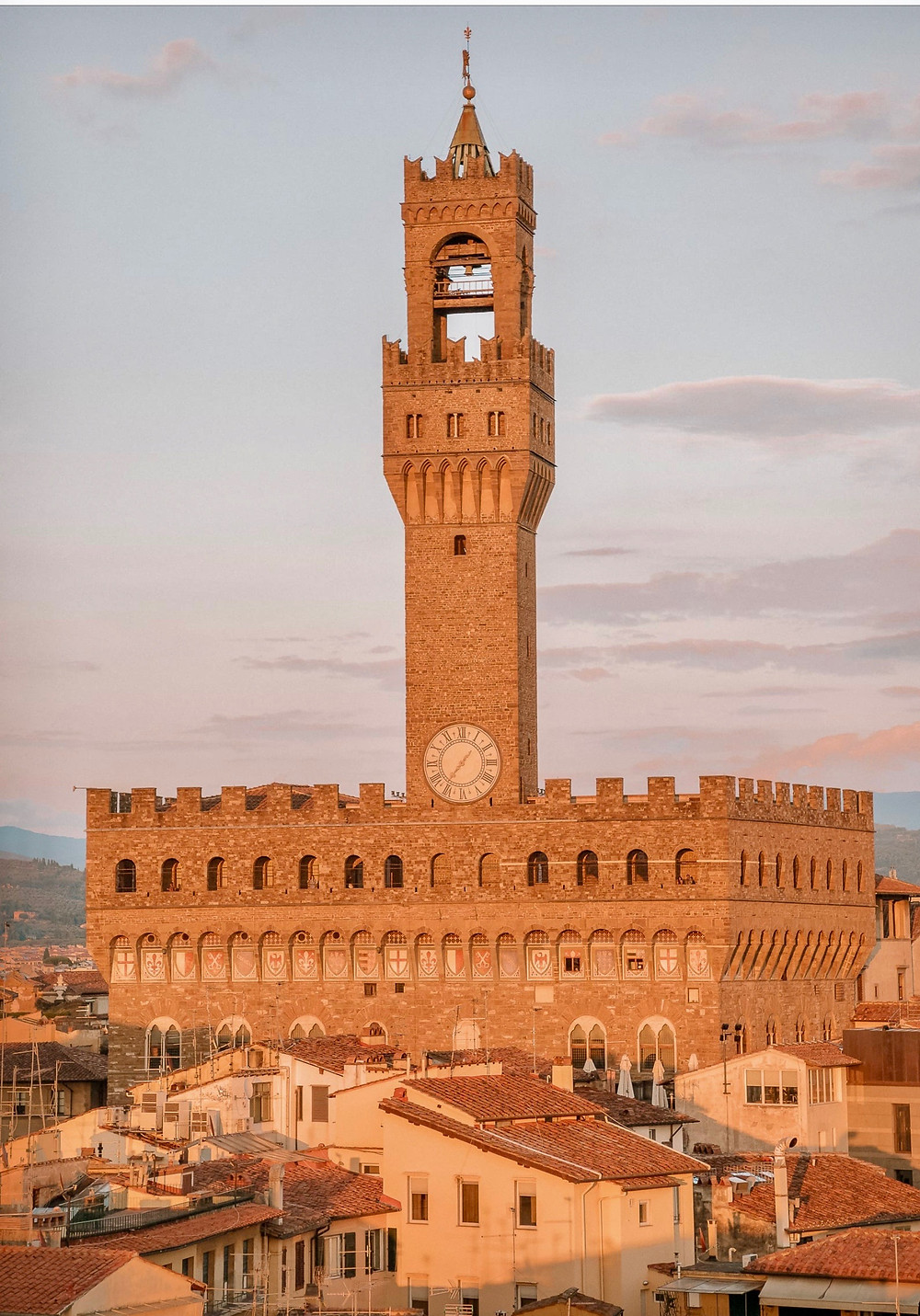 the Palazzo Vecchio and the Tower of Arnolfo