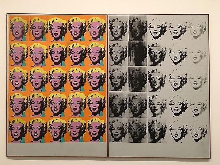 The Marilyn Diptich, Andy Warhol, 1962