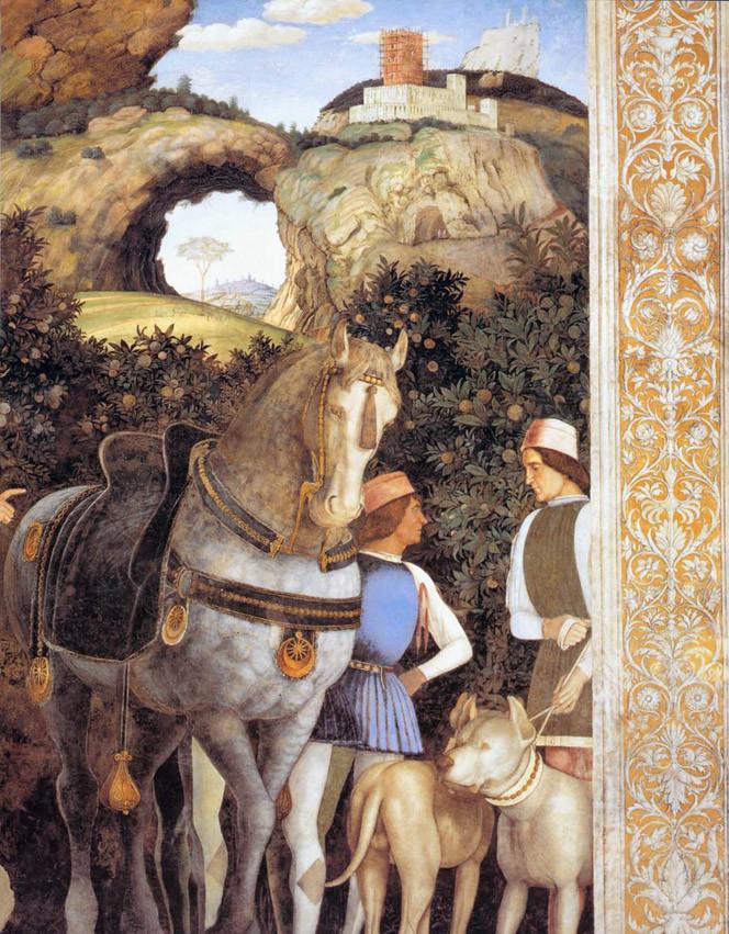 the Gonzaga horse