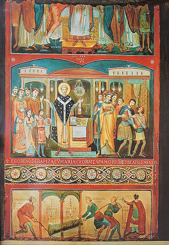 scenes from the life of Saint Clement