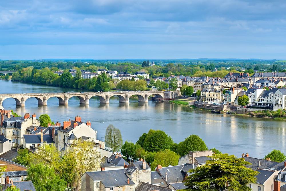 cityscape of Saumur