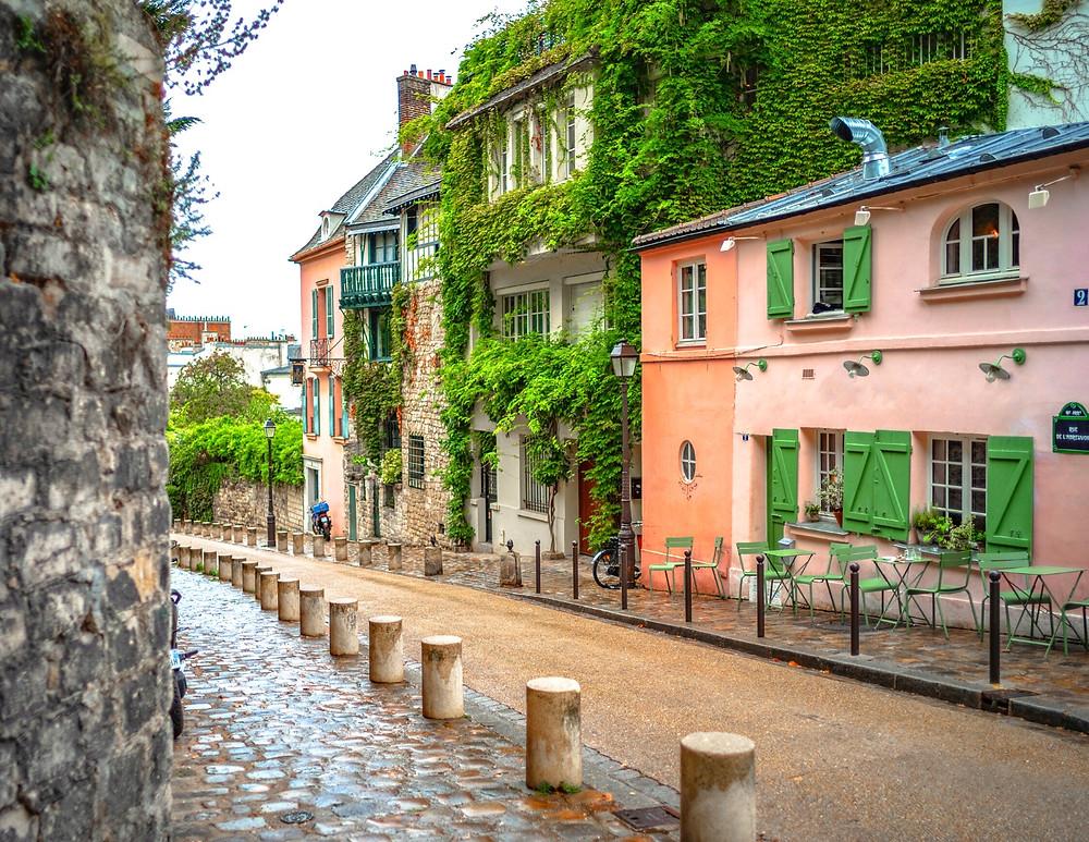 Maison Rose on Rue de l'Abreuvoir