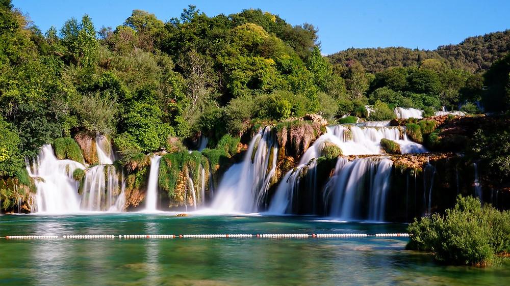 Skradanski Buk waterfall at Krka National Park