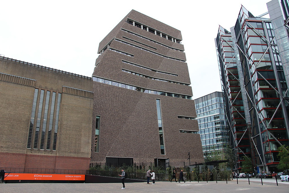 Tate Modern, one of the world's premiere modern and contemporary art museums