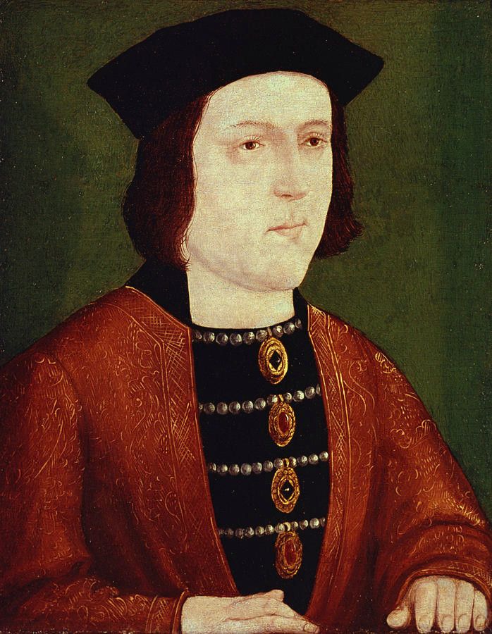 the supposedly very handsome King Edward IV of England, father of the princes in the tower