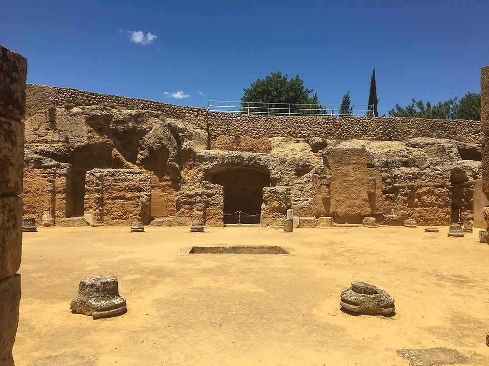 Roman Necropolis in Carmona Spain