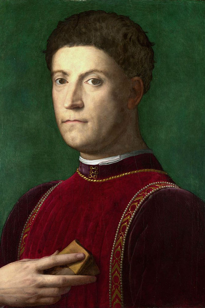 Bronzino, Piero de Medici, circa 1550-70-- in the National Gallery of London