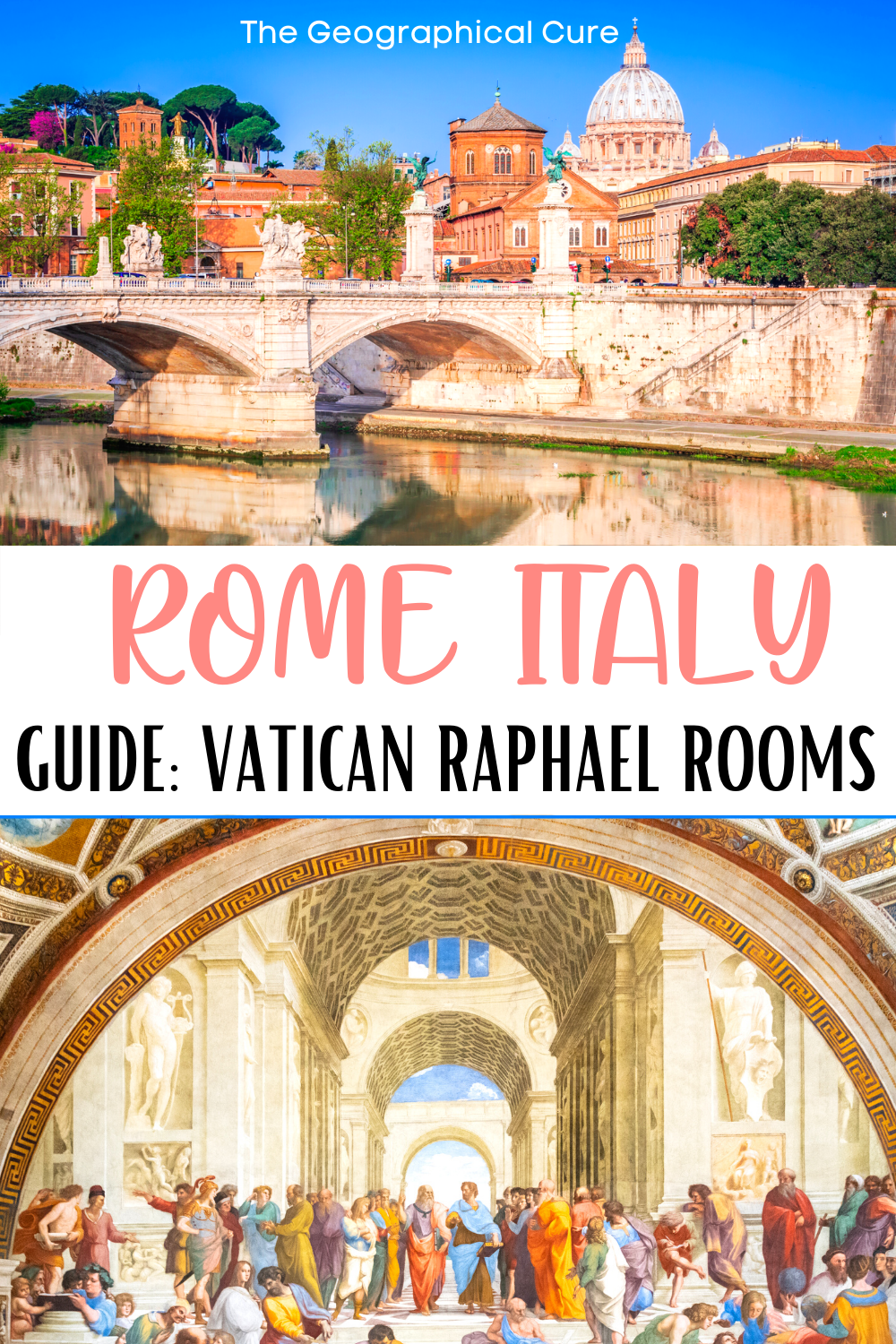 guide to the masterpieces of the Raphael Rooms in the Vatican Museums